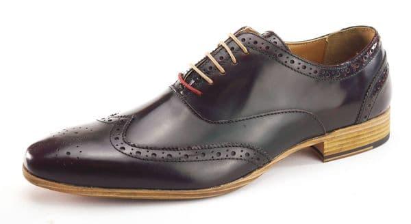 Frank James Norbury Oxblood Shoes